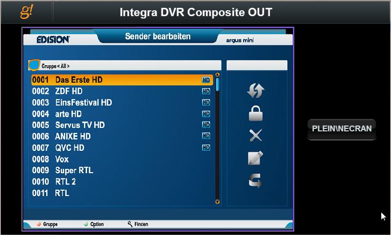 BL Acoustics controlla da remoto il decoder TV Sat e TV via cavo e riodina i canali