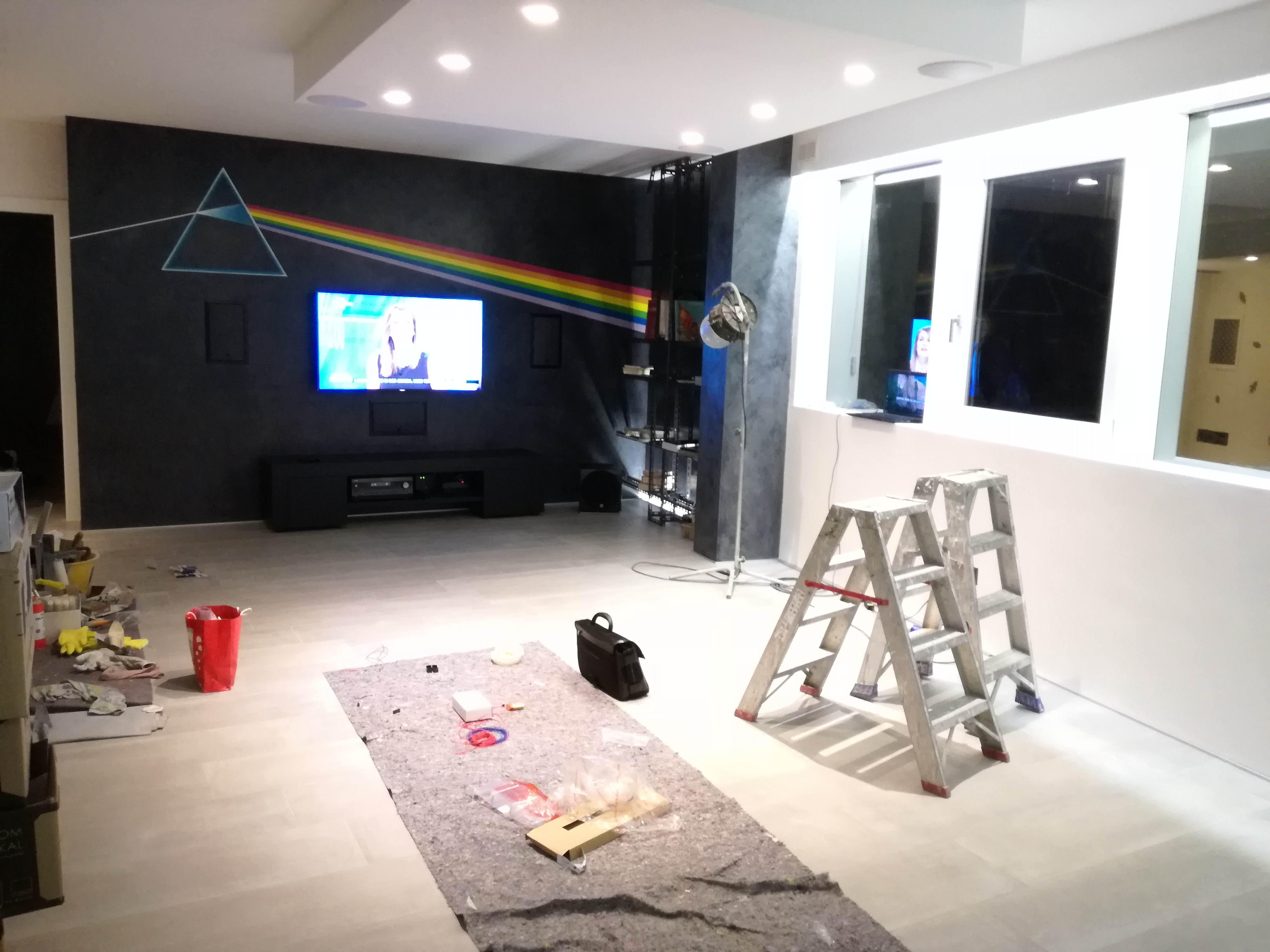 Flash news realizzazione sala home cinema the blog - Sala home cinema ...