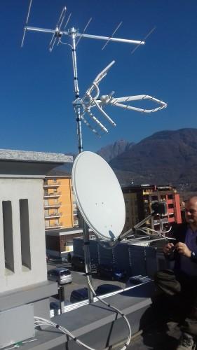 Impianto di ricezione TV e Sat