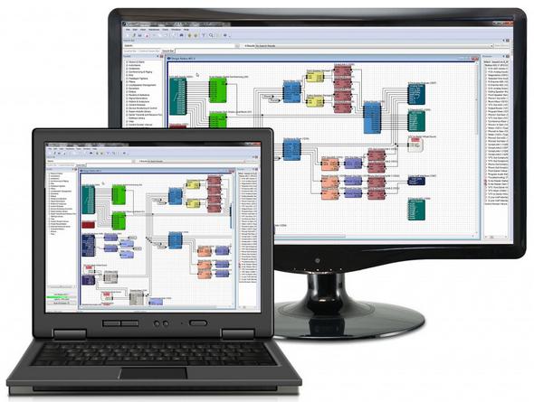 Il software di configurazione e taratura del sistema