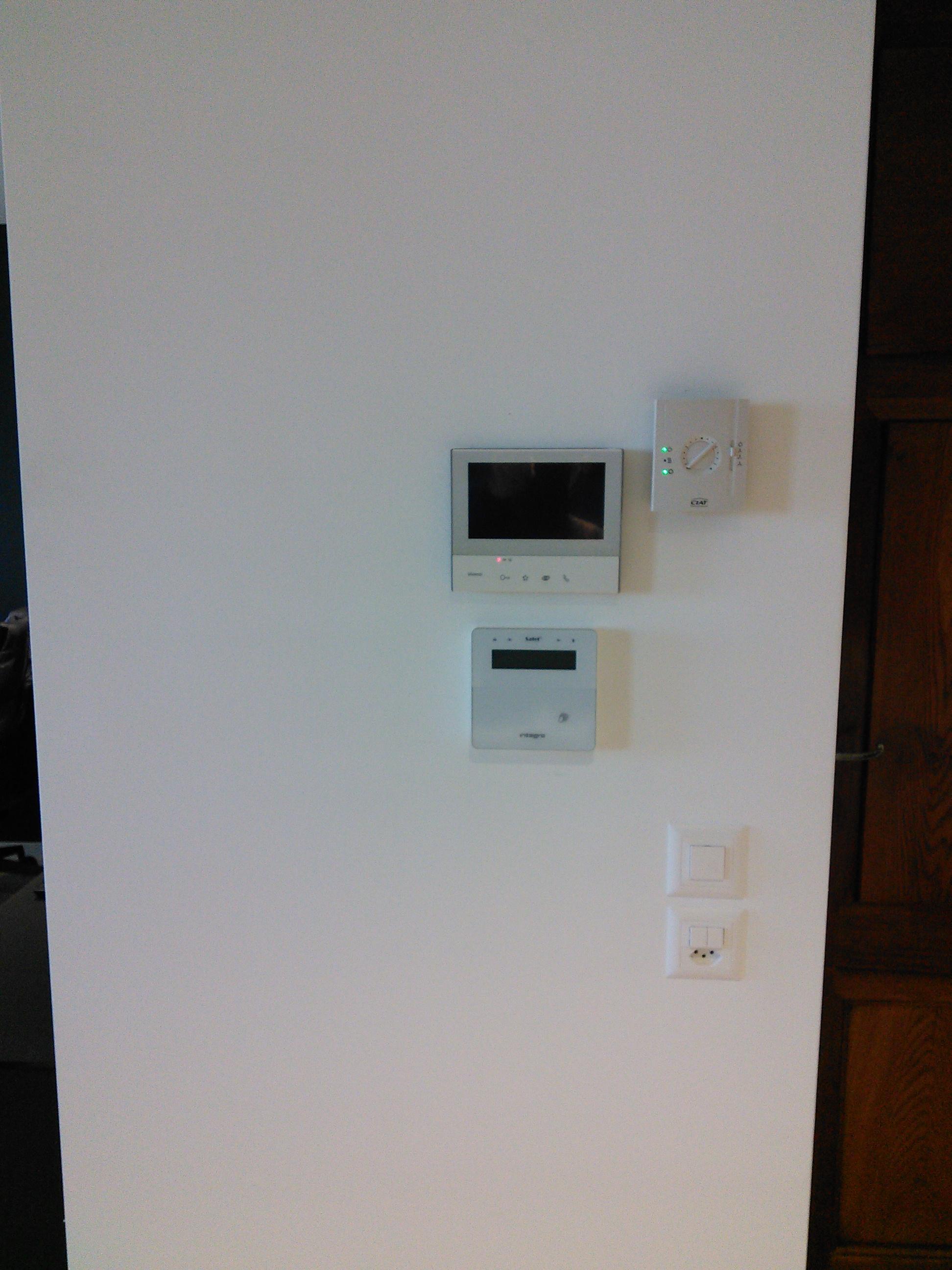 Tastiera di controllo del sistema di sicurezza