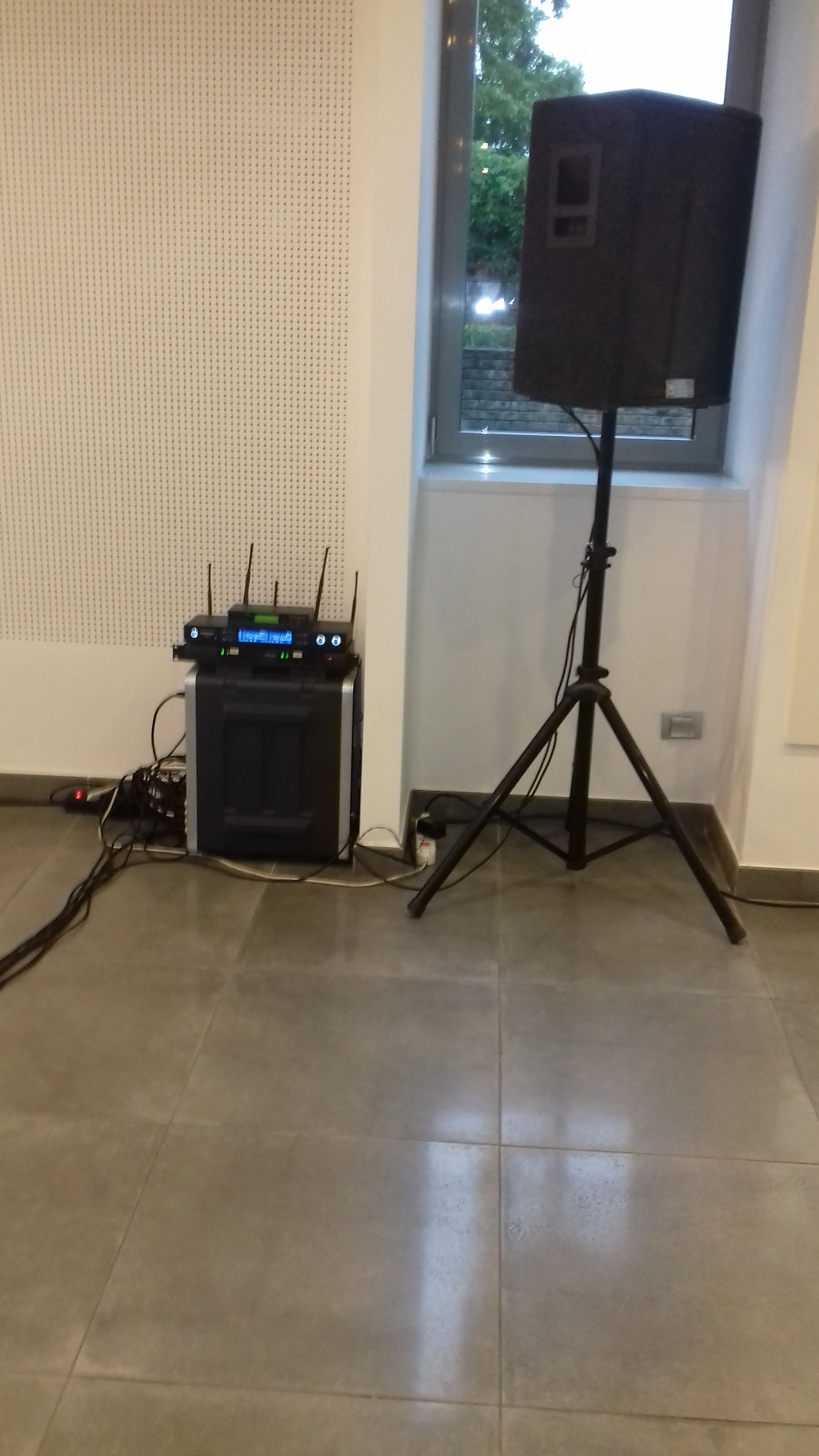 Service audio per cerimonia